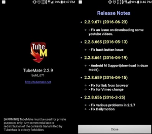 Download Tubemate 2.2.9